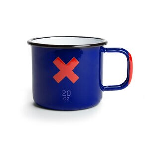 Best Made Enamel 20 oz. Mugs (Set of Two)