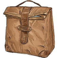 Fire Hose Lunch Sack BROWN