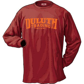 711b4312cd5a Men's Longtail T DTC Logo Long Sleeve T-Shirt | Duluth Trading Company