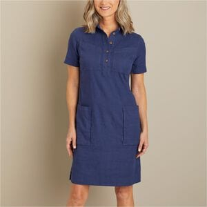 Women's Artisan Hemp Dress