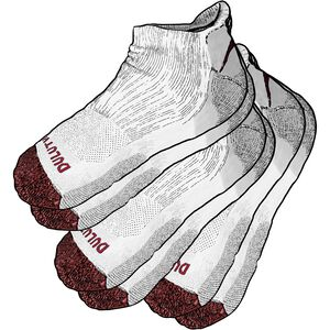 Men's Free Range Cotton 3-Pack No Show Socks