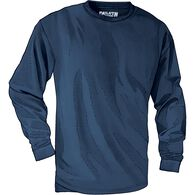 Men's Longtail T Trim Fit Long Sleeve T-Shirt NAVY