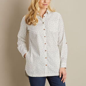 Women's Artisan Hemp Tunic