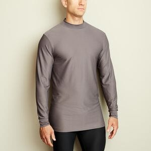 Men's Buck Naked Performance Base Layer Mock Neck Shirt