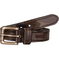 Men's Lifetime Leather Belt BROWN 034