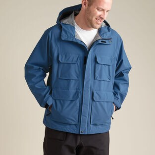 Men's No-Rainer Waterproof Rain Jacket