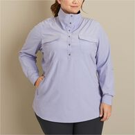 Women's Plus Sol Survivor Tunic LODSTRP 1X