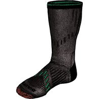 Men's 7-Year Midweight Performance Crew Socks BLAC