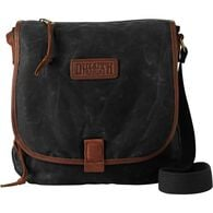 Oil Cloth Sling Bag BLACK