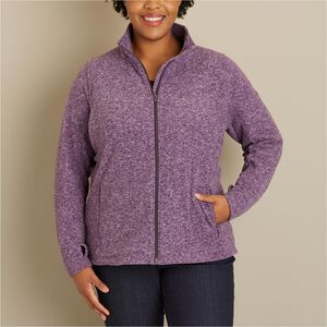 Women's Plus Frost Lake Fleece Full Zip Jacket
