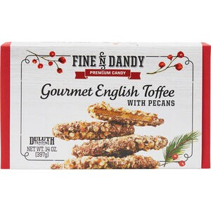 Gourmet English Toffee with Pecans