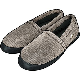 Men's Acorn Moccasin Slippers
