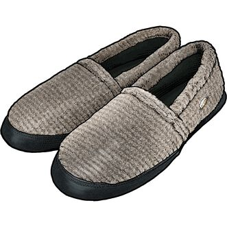 64471b84057496 Men's Acorn Moccasin Slippers | Duluth Trading Company