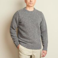 Men's Shetland Wool Sweater DARKINK MED REG