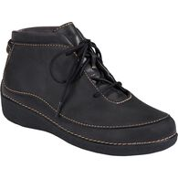 Women's Andina Leather Ankle Boots BLACK 6.5 MED