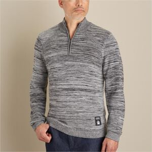 Men's AKHG Wateroff Merino 1/4 Zip Sweater