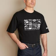 Men's Longtail T Every Tool Logo T-Shirt BLACK MED