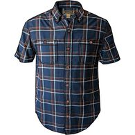 Men's Hemp F.O.M Short Sleeve Pattern Shirt ABBPLA
