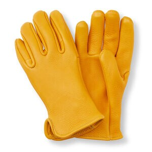 Best Made Elkskin Unlined Roper Gloves