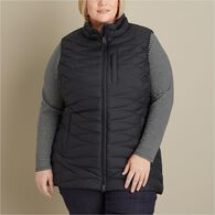 Women's Plus Cold Faithful Down Tunic Vest BLACK 3