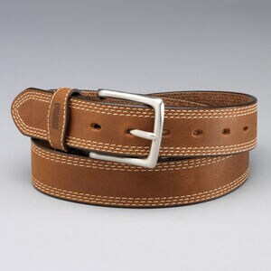 Men's Gets Better with Age Leather Work Belt