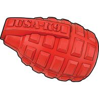 Toy Grenade Treat Dispenser RED