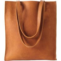 Women's Lifetime Leather Everyday Tote COGNAC