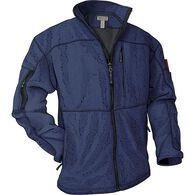 Men's Shoreman's Fleece Grid-Lock Jacket STRMBLU S