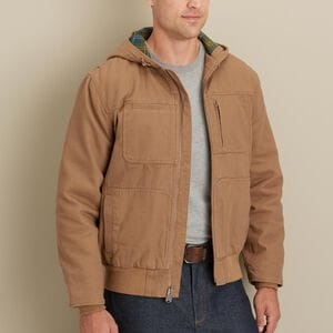 Men's Action Flannel-Lined Jacket