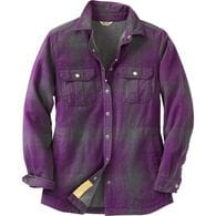Women's Free Swingin' Lined Flannel Shirt Jac GYHO