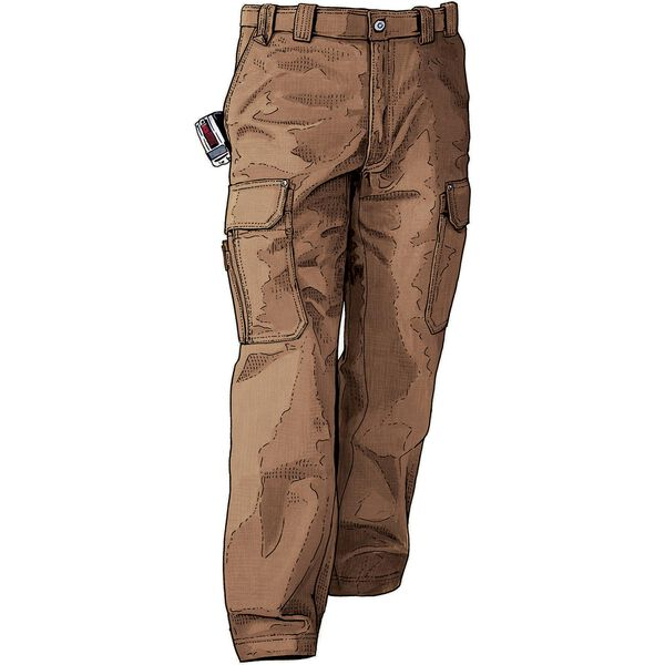 Men's Fire Hose Relaxed Fit Cargo Work Pants | Duluth