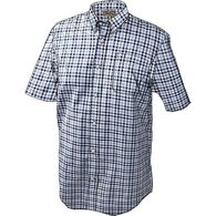 Men's Wrinklefighter Short Sleeve Shirt NFBCHCK SM
