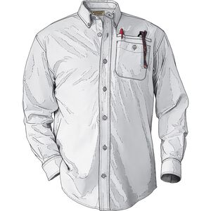 Men's DuluthFlex Wrinklefighter Oxford Long Sleeve Shirt