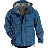 Men's No-Rainer Waterproof Rain Jacket MARIBLU MED