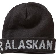 Men's Alaskan Hardgear Turn Back Hat BLACK ONESIZE