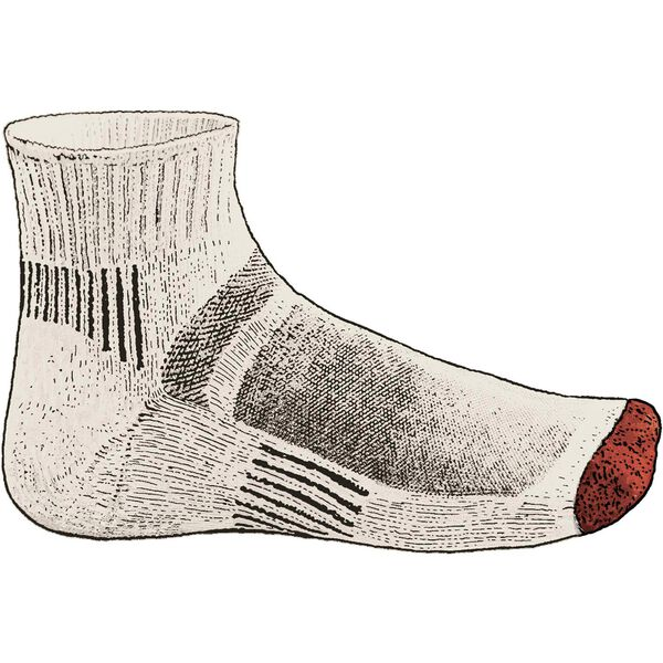 Men's Lightweight Merino Quarter Socks