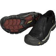 Men's Keen Brixen Waterproof Leather Shoes BLACK 9