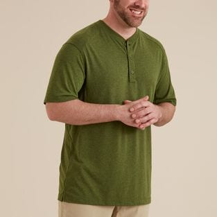Men's Dry on the Fly Henley T-Shirt