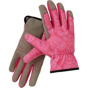 Women's Synthetic Patterned Gardening Gloves
