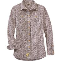 Women's Iron Mountain Oxford Shirt ABGLEAV MED