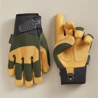 Men's Duluth D2 Leather Winter Work Gloves DEEPEGR