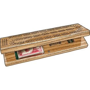 Duluth Trading Deluxe Cribbage Board