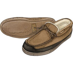 Men's Ultimate Sheepskin and Fire Hose Slippers