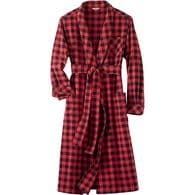 Women's Flannel Robe MRDBCHK XSM