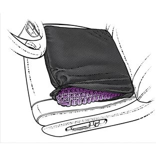 Bony Ass Gel Seat Cushion PURPLE