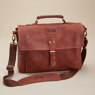 All-Business Leather Briefcase
