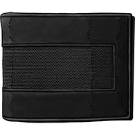 Men's Fire Hose Bi-Fold Wallet BLACK