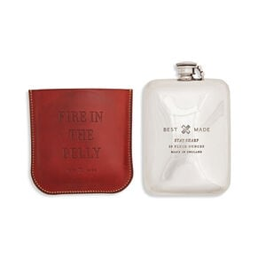 Best Made Flask with Leather Case