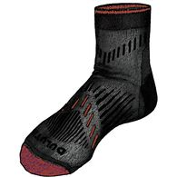 MN 7-Year Performance LW Quarter Socks BLACK MED