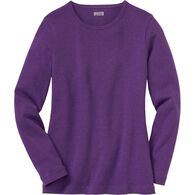 Women's Plus Longtail T Long Sleeve Crew Neck PPMH